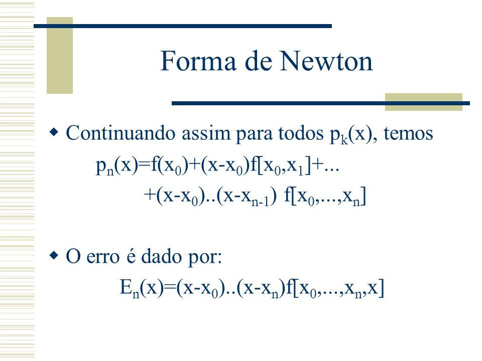En(x)=(x-x0)..(x-xn)f[x0,...,xn,x]